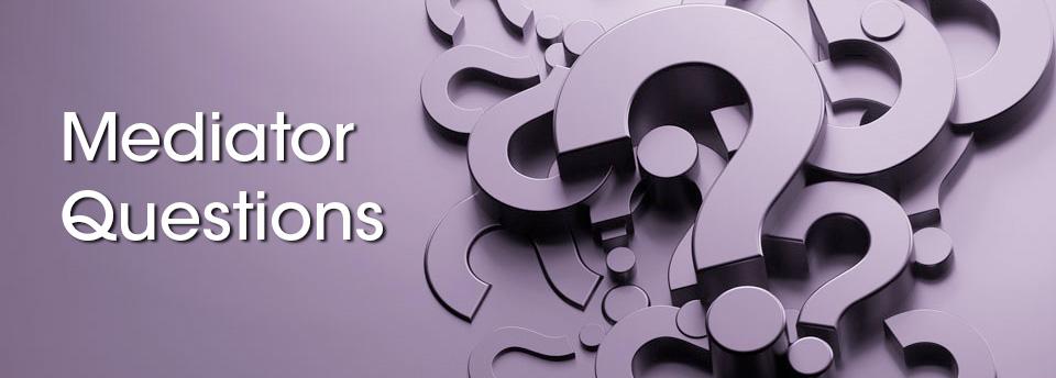Mediator Questions